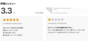 マネコのアプリの評価