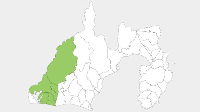 浜松市の地図